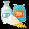 Ingredients popchou